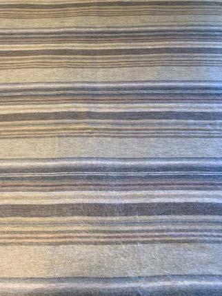 Subtle Grey Stripes alpaca throw