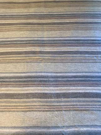 Subtle Grey Stripes alpaca throw
