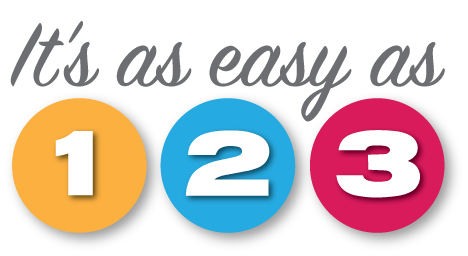 Easy as 1,2,3