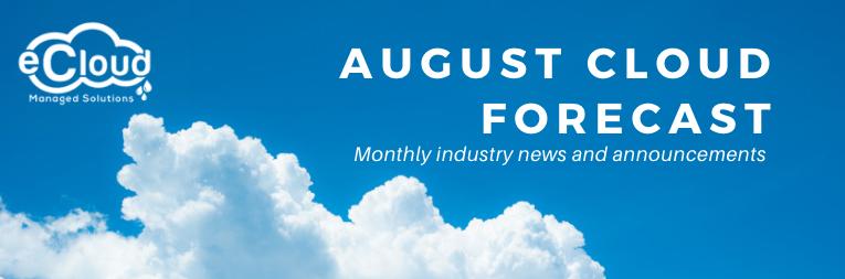 August Cloud Forecast