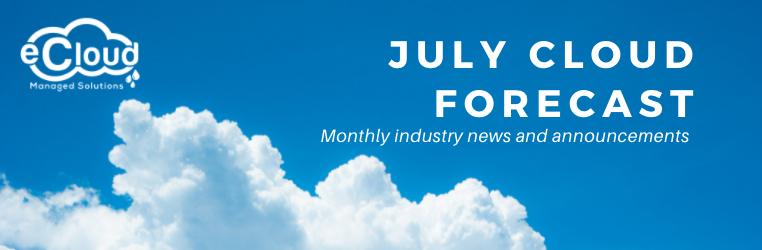July Cloud Forecast