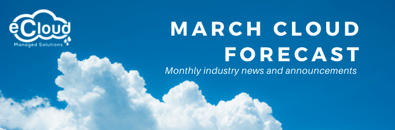 March Cloud Forecast
