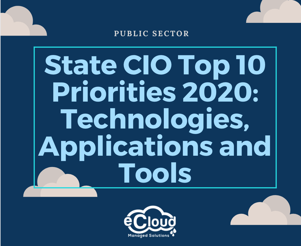State CIO priorities align with the future on NASCIO's 2020 list