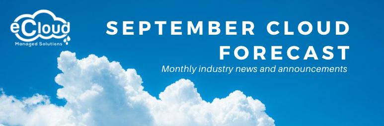 September Cloud Forecast