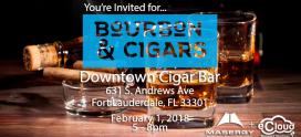 Event: Bourbon & Cigars!