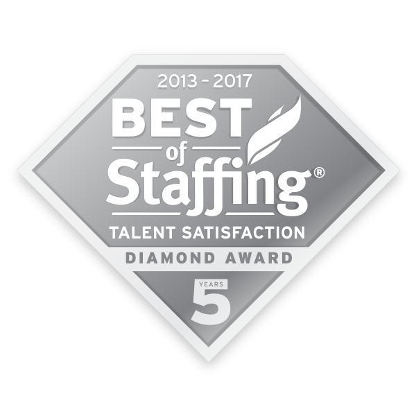 NESCO RESOURCE WINS INAVERO'S 2017 BEST OF STAFFING®  CLIENT AND TALENT AWARDS 6 YEARS RUNNING