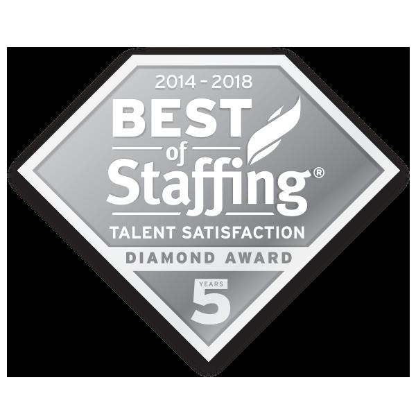 NESCO RESOURCE WINS INAVERO'S 2018 BEST OF STAFFING® TALENT AWARD