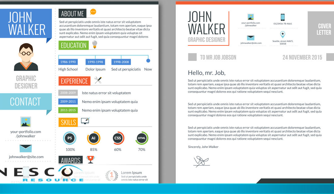 The Pros and Cons of Having an Infographic Resume