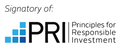 Signatory of Principles for Responsible Investment