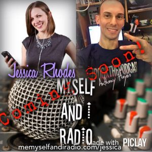 Jessica Rhodes on Me Myself and I Radio with Anthony Hayes