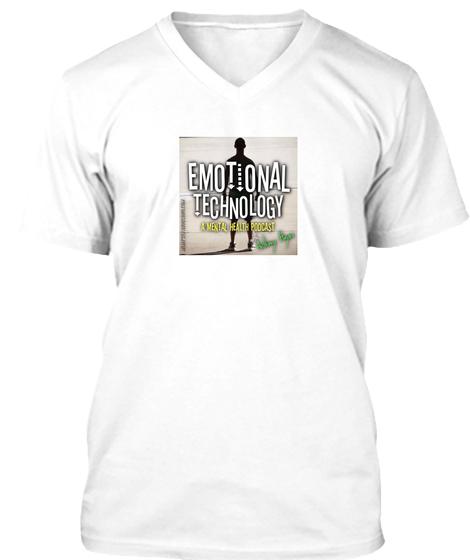 Emotional Technology V-Neck Shirt