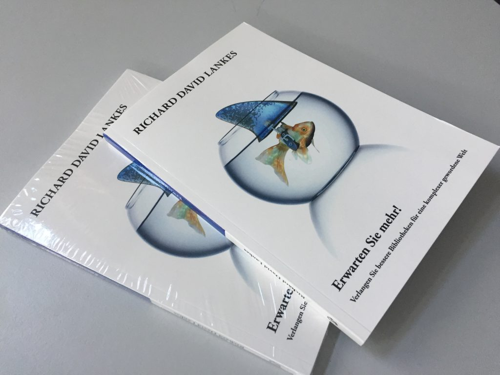 Germaqn Language Cover of the Expect More Book