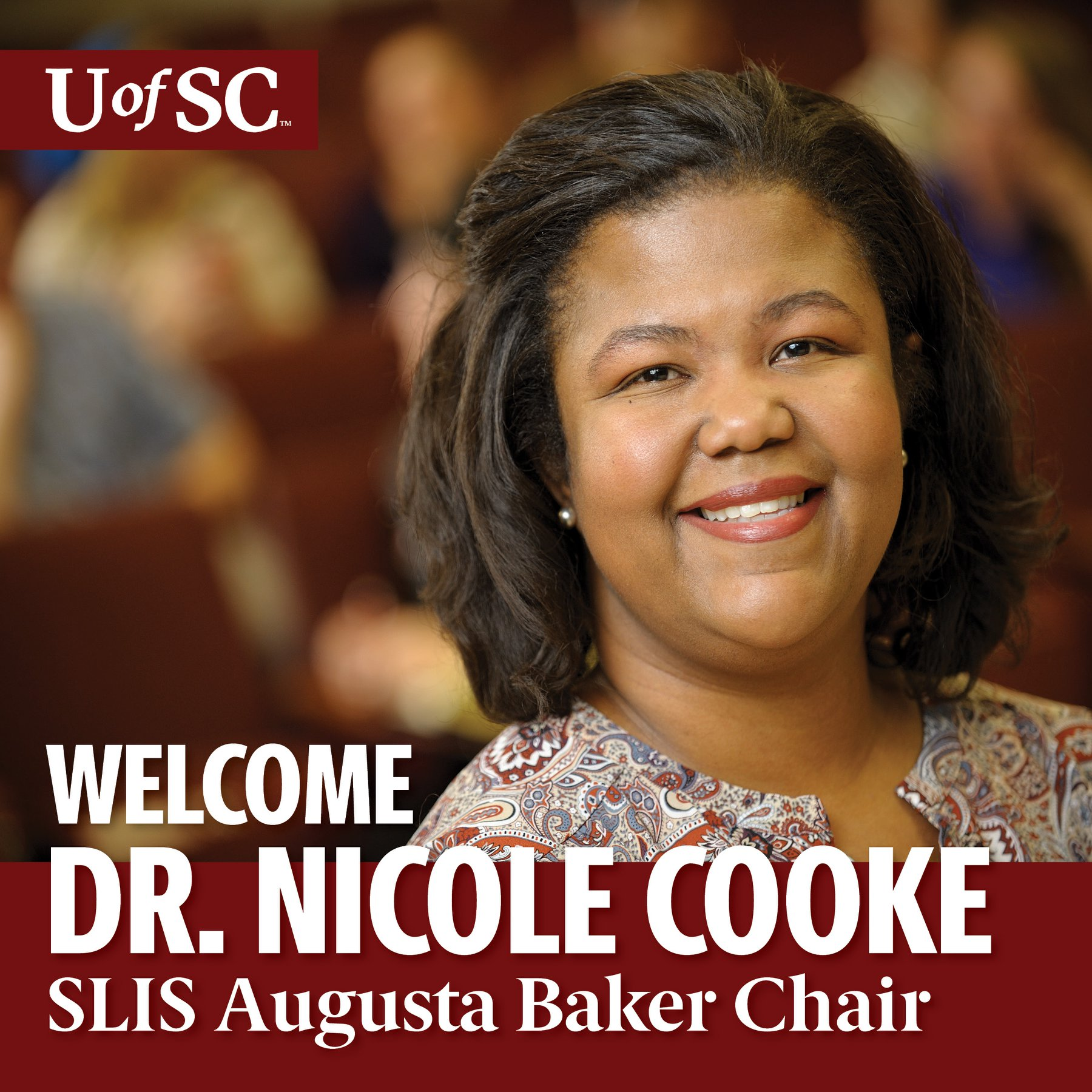 SLIS Welcomes Dr. Nicole Cooke