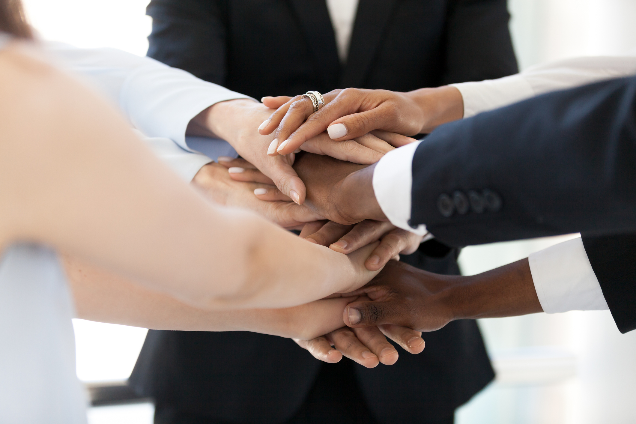 Diverse Group of People with Teamwork