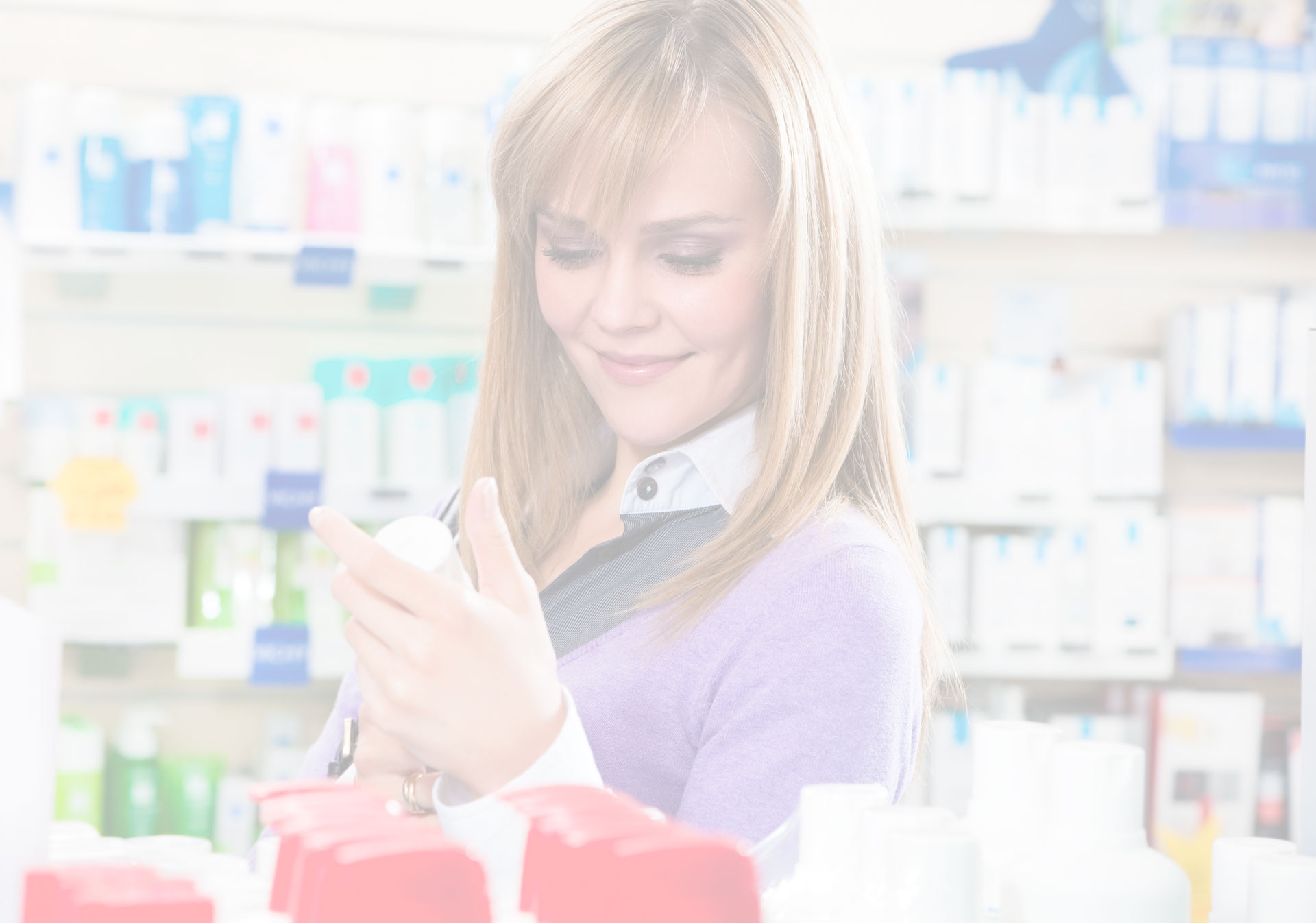 Woman Shopping Slider Background