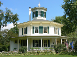Hudson, WI. - OCTAGON HOUSE MUSEUM OPENS for TOURS - May 1, 2021