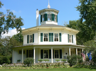 Hudson, WI. – OCTAGON HOUSE MUSEUM OPENS for TOURS – May 1, 2021