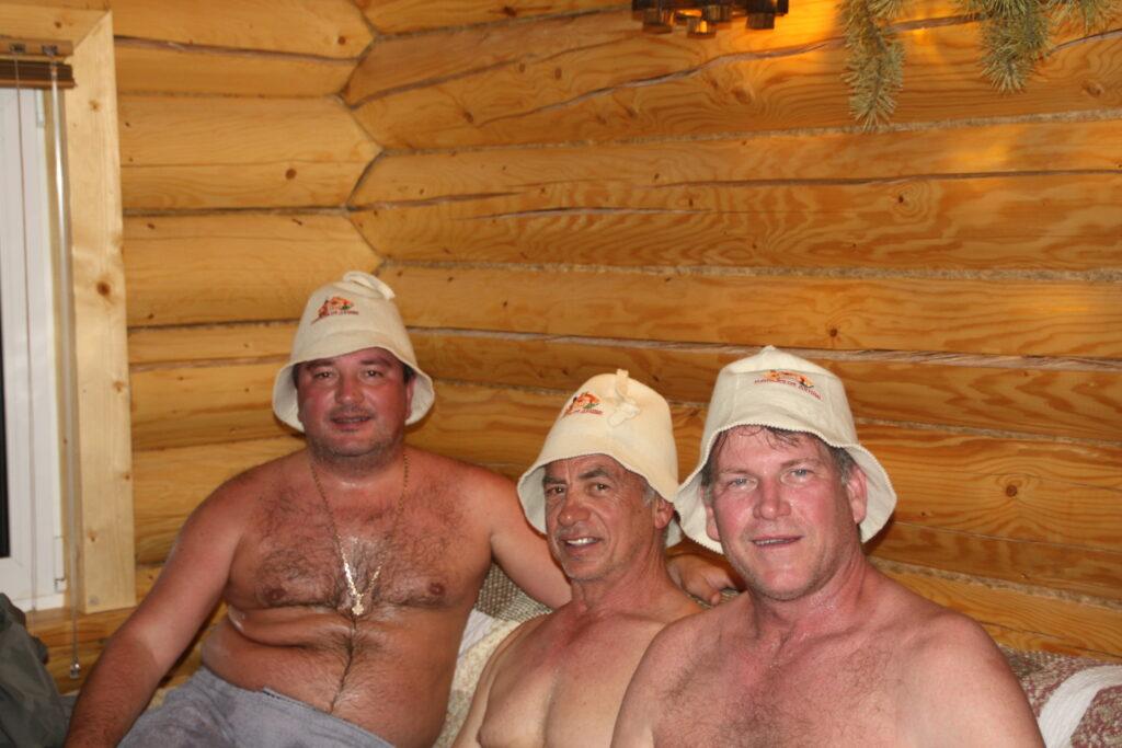Ginny, Jeff, West Banya Hats