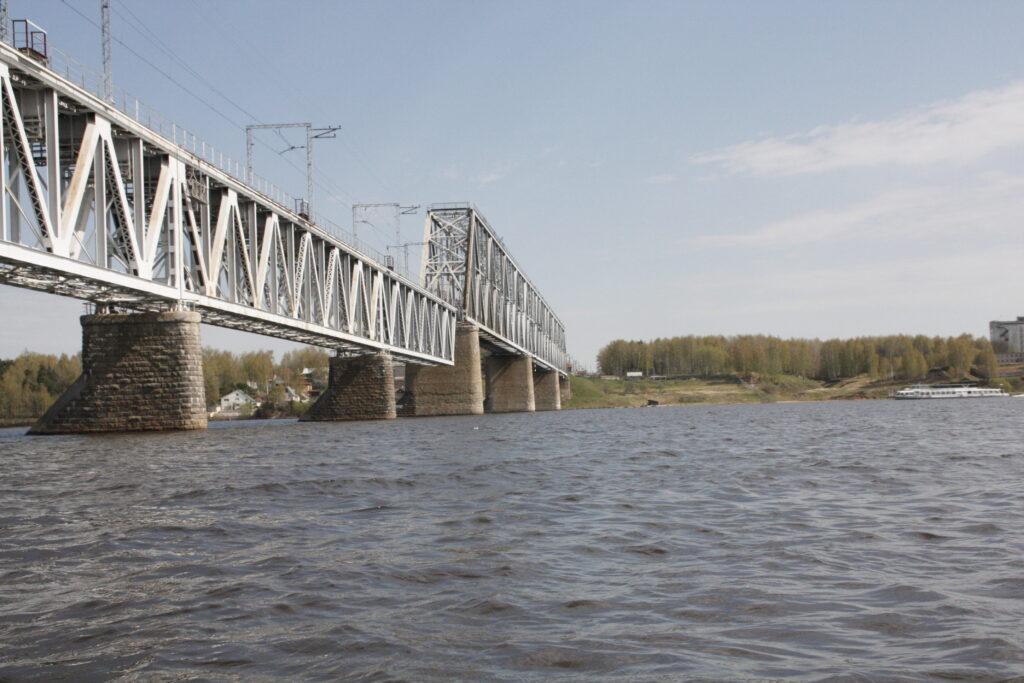 Northernmost Bridge on the Volga