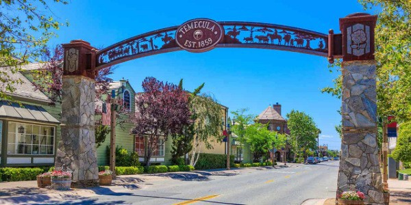Temecula old town front street