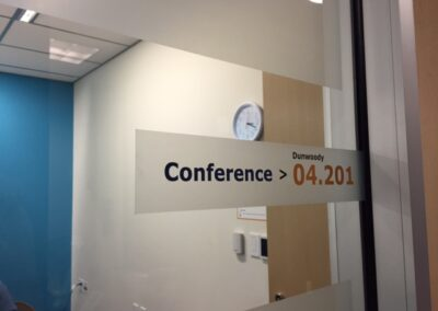 Office Window Conference Graphic