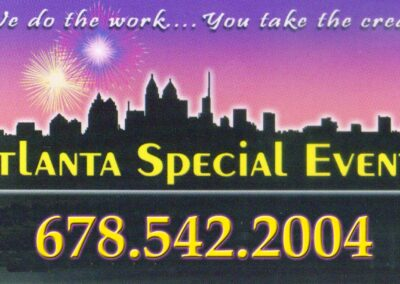 Atlanta Special Events Sign