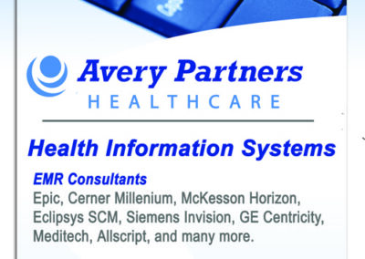 Avery Partners Healthcare Banner