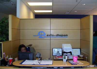 Avio Diepen Reception Sign