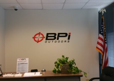 BPI Outdoors Sign