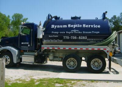 Bynum Tanker Truck Graphics