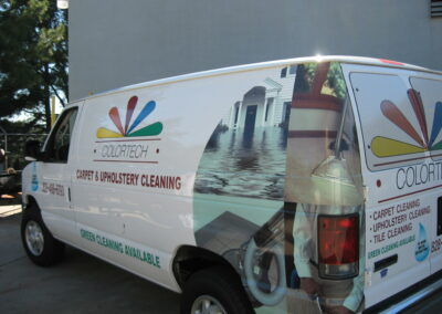 Color Tech van Wrap