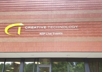 Creative Technology Outside wall