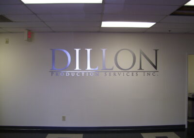 Dillon reception sign