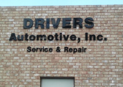 Drivers Automotive, Inc. Sign