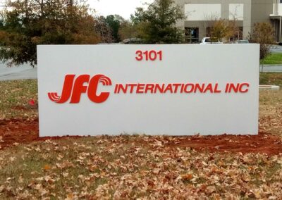 JFC Monument Sign
