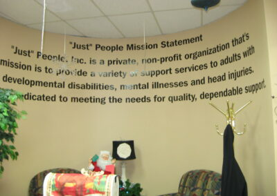 Mission Statement Wall Text