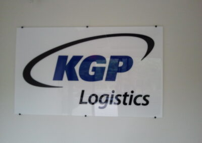 KGP Logistics Sign