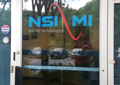 NSI Front Door decal
