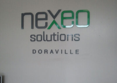 neXeo Solutions Wall Sign