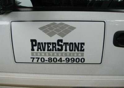 Paver Stone Magnetic Signs