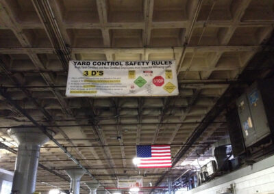 Yard Control Safety Banner