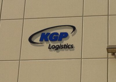 KGP wall sign