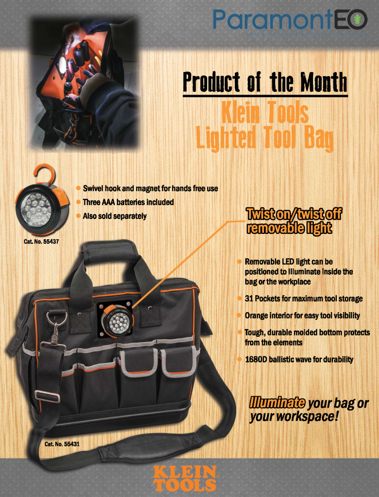 KleinPOTM Lighted Bag