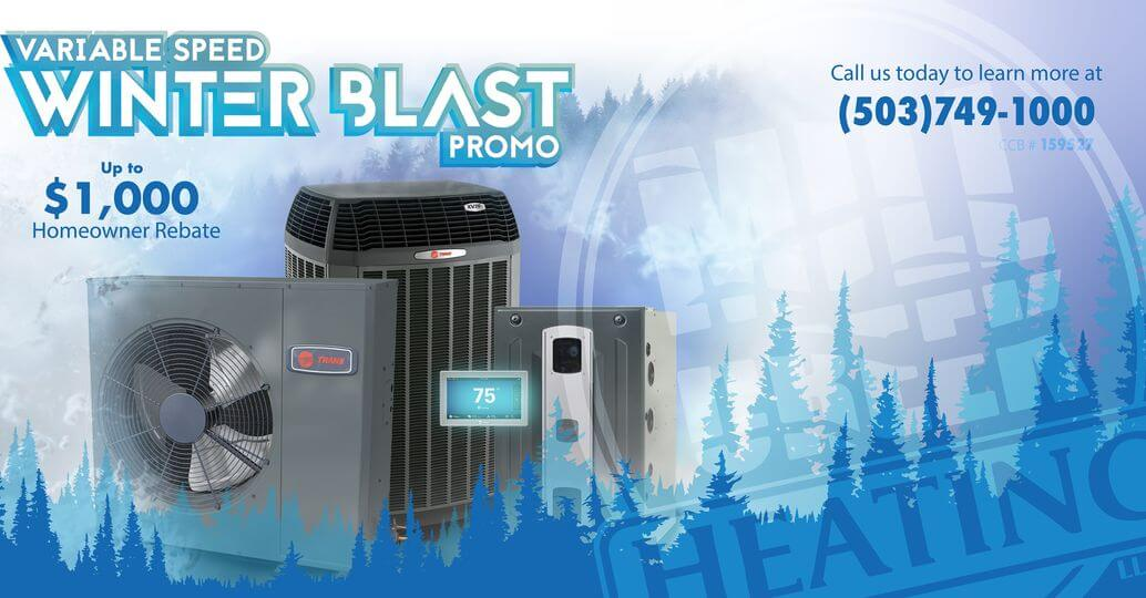 Variable Speed Winter Blast Promo