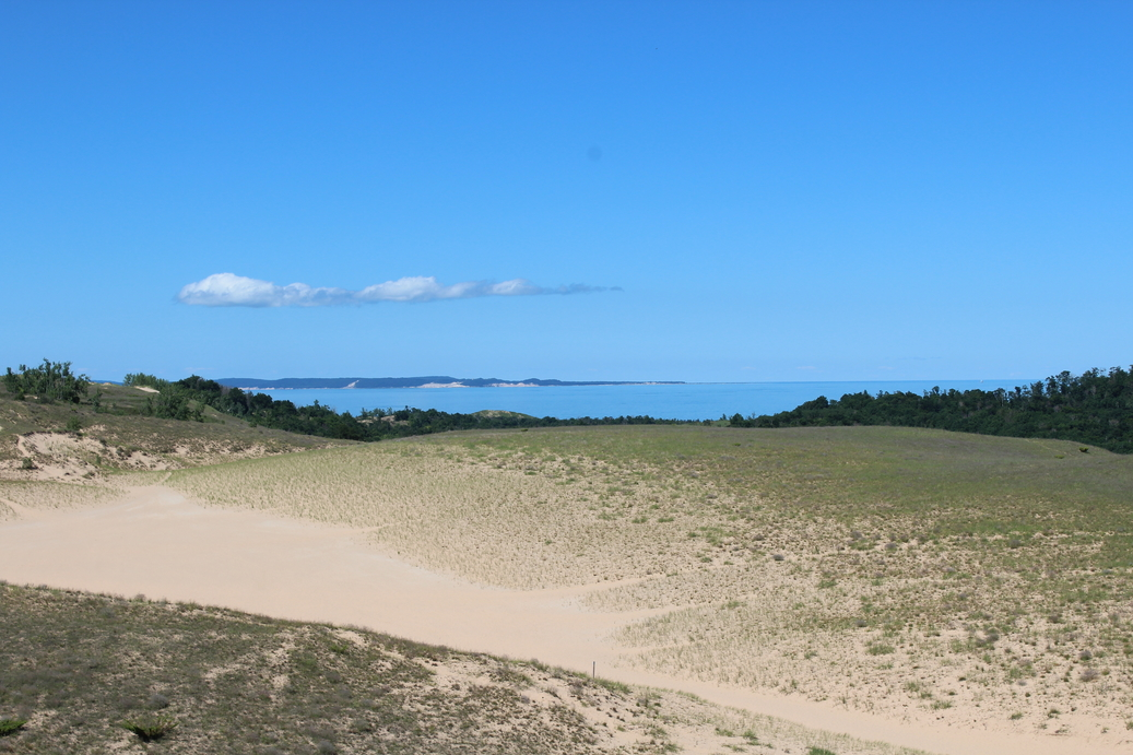 Sleeping Bear Dunes and South Manitou Island