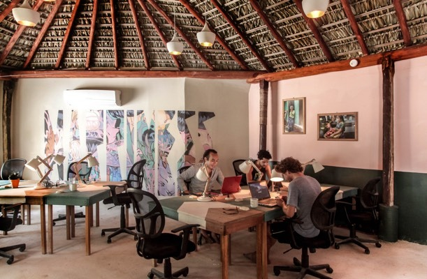 Salina co-work space