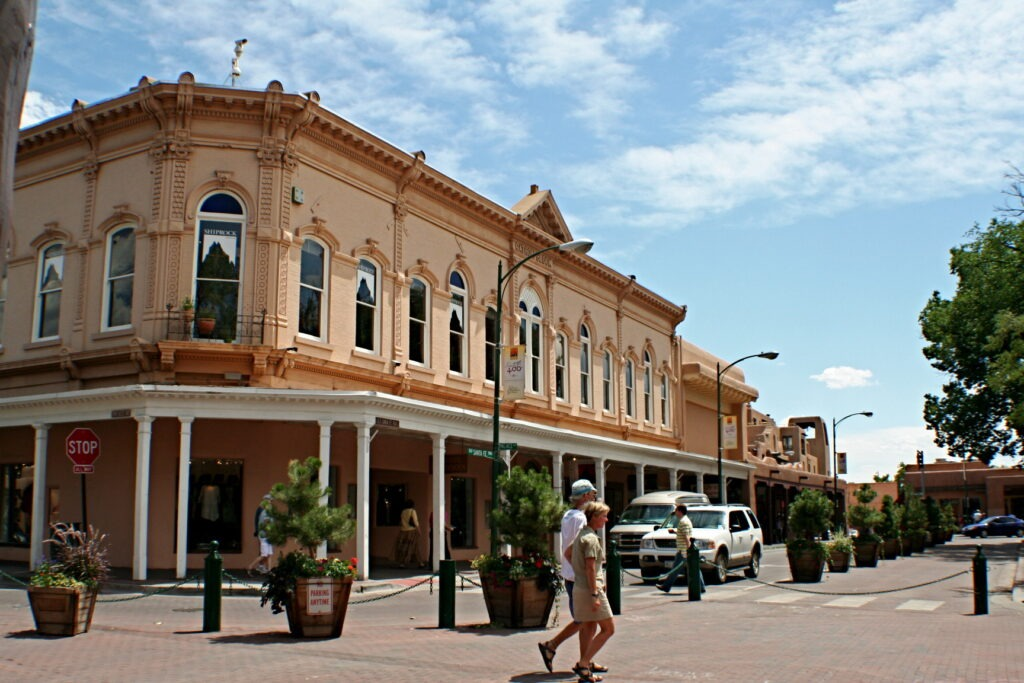 Sante Fe, NM is a top 20 summer vacation in usa