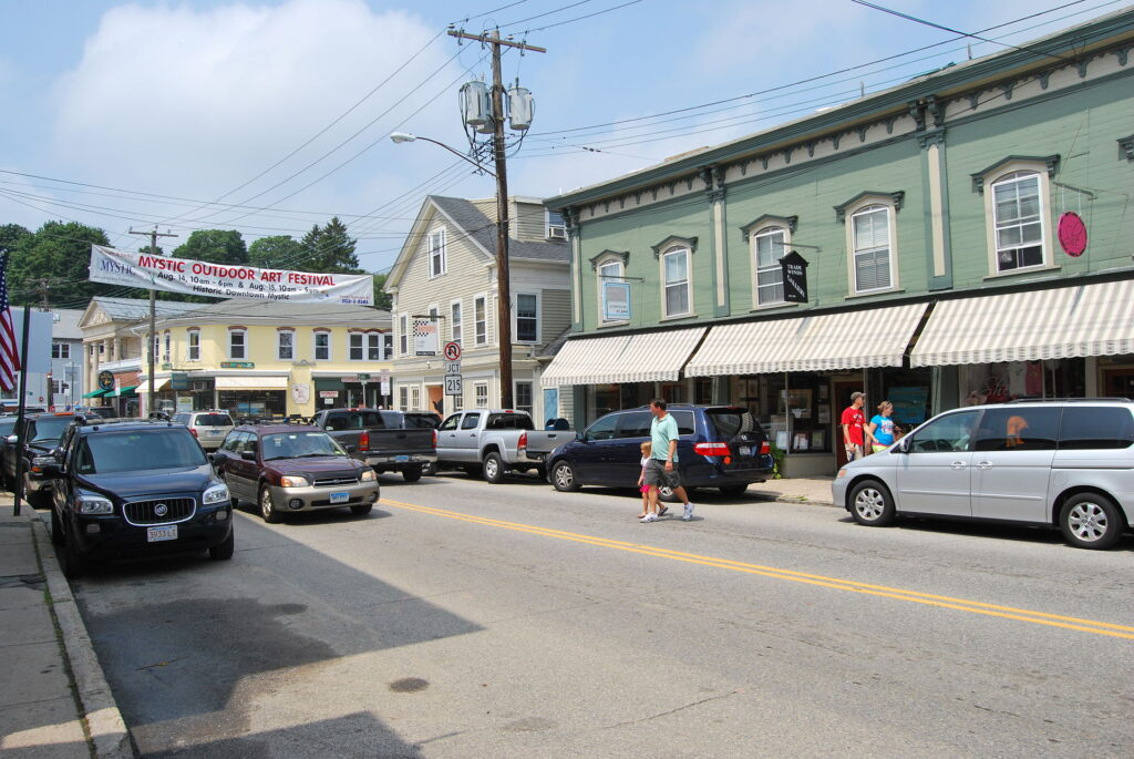 Mystic, Connecticut is a top 20 summer vacation in usa