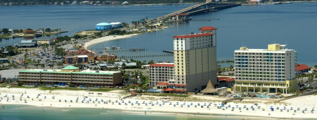 Pensacola Beach is a top 20 summer vacation in usa