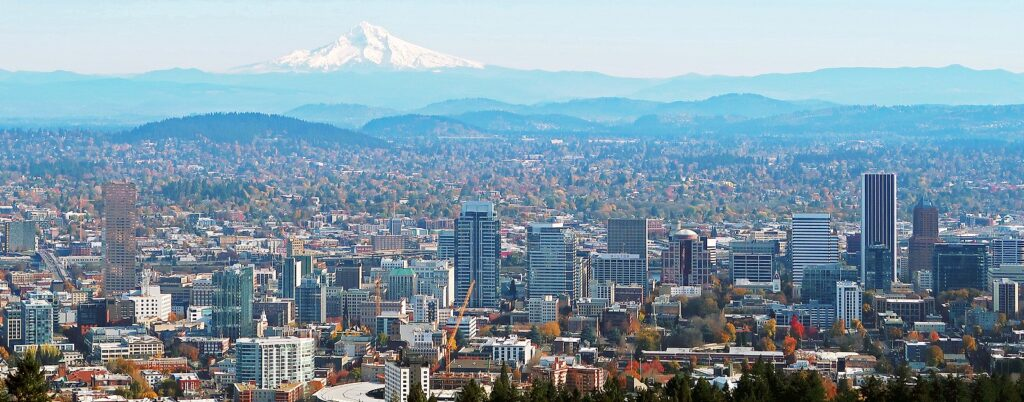 Portland, Oregon is a top 20 summer vacation in usa